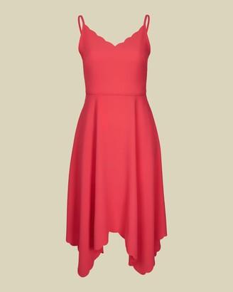 Ted Baker Asymmetric Hem Dress