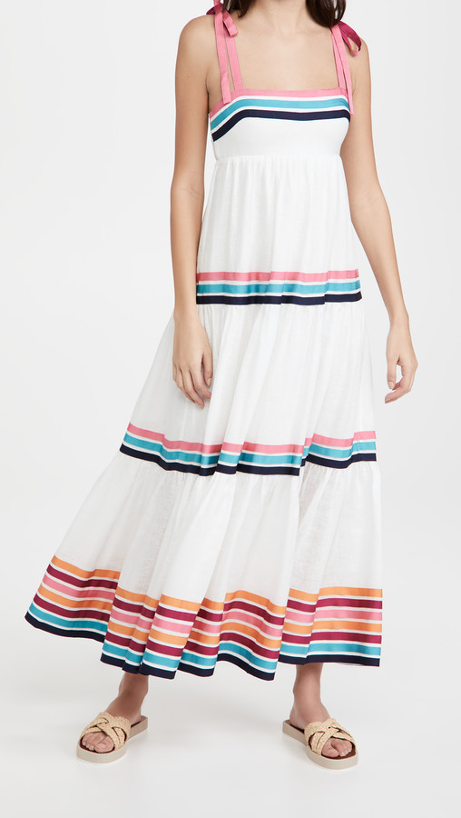 Thumbnail for your product : Zimmermann Lulu Ribbon Tiered Dress
