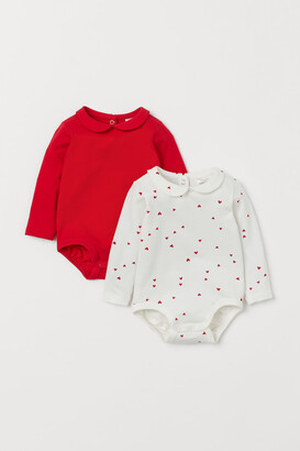H&M 2-pack Colla Bodysuits