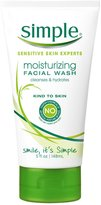 Simple Moisturizing Facial Wash, 5 oz