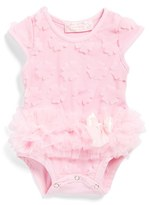 Infant Girl's Popatu Flower Petal Bodysuit