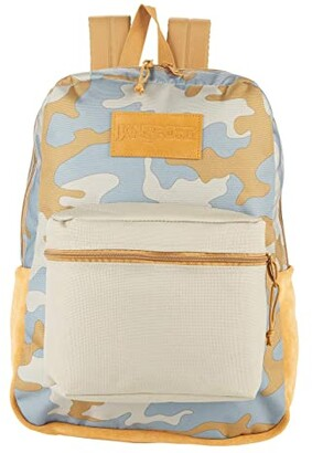 JanSport Super Suede (Oyster Camo) Backpack Bags