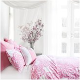 Oilo Queen Modern Berries Duvet, Petal Pink
