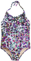 Milly Minis Ruffle Halter One Piece Swimsuit (Toddler, Little Girls, & Big Girls)