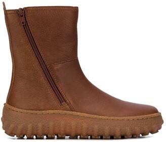 Camper Ground zip-up boots