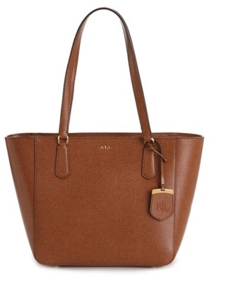 Lauren Ralph Lauren Huntingdon Leather Mini Tote