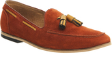 Ask The Missus Avocado Tassel Loafers