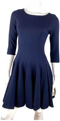 Issa Blue Wool Dress for Women