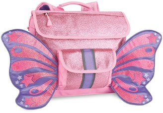 "Bixbee 10"" Kid' parkaliciou Butterflyer Backpack - Pink"
