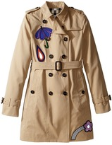 Burberry Sandrigham Trench Coat Girl's Coat