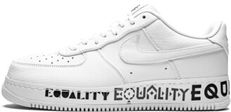 Nike Force 1 Low 'Equality' Shoes - Size 7