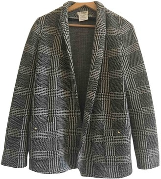 Roseanna Anthracite Wool Jacket for Women