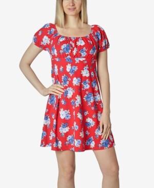 Ultra Flirt Juniors' Emma A-Line Dress
