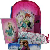 Disney Frozen Elsa And Anna Kit Nursery School Shoulder Bag Colors Pencils