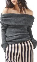 Topshop Women's Bardot Oversize Sweater