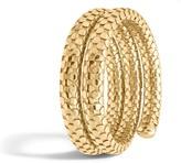 John Hardy Women's Dot Double Coil Bracelet in 18K Gold