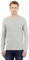 Red Herring Grey Ribbed Crew Neck Jumper
