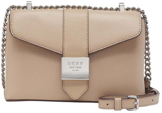 DKNY R01E8H14 Lyla Flap Over Crossbody Bag
