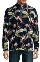 Tommy Bahama Long-Sleeve Printed Polo