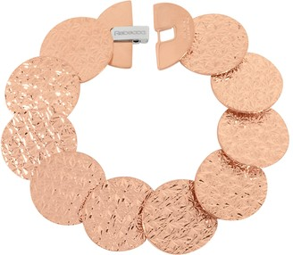 Rebecca R-ZERO Rose Gold Over Bronze Bracelet