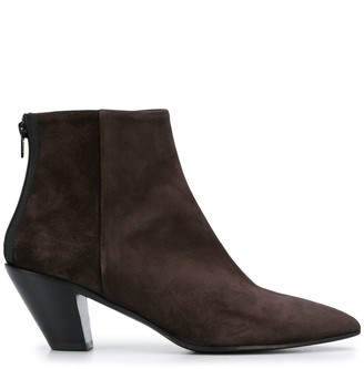 A.F.Vandevorst textured ankle boots