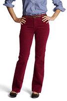 Lands' End Women's Pre-hemmed Original 14-wale Corduroy Boot-cut Pants-Black