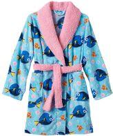Disney Pixar Finding Dory Girls 4-10 Fleece Bath Robe