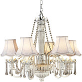 Kathy Ireland Home by Pacific Coast Chateau Brittany Chandelier