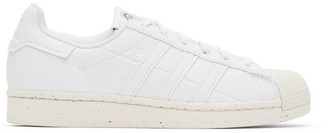 adidas White Clean Classics Superstar Sneakers