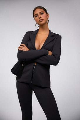 Good American Well Fitted Blazer | Black001