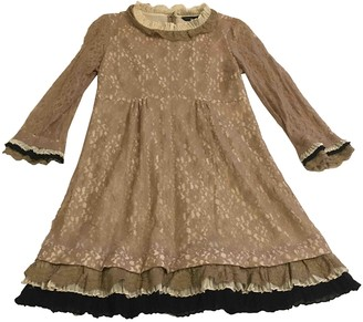 Marc by Marc Jacobs Gold Lace Dress for Women