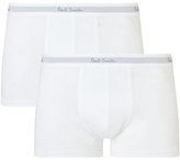 Paul Smith Low Rise Trunks, Pack Of 2, White