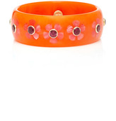Mark Davis Orange Flora Bangle