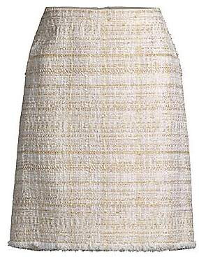 9515348313 Long Tweed Skirt - ShopStyle
