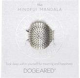 Dogeared Mindful Mandala Center Square Ring