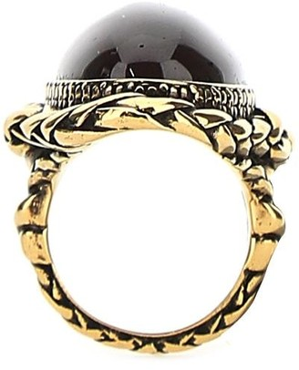 Alexander McQueen Stone Ring
