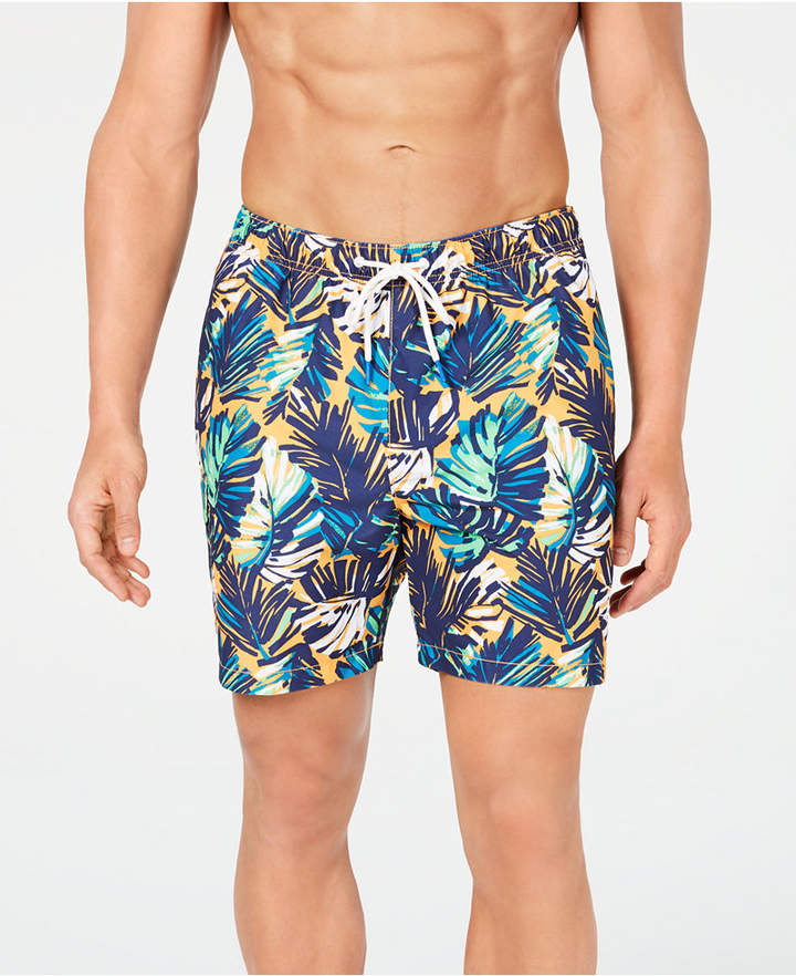 "Tommy Bahama Men Naples Zocca Fronds Printed 6"" Swim Trunks"