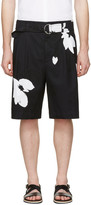 3.1 Phillip Lim Black Floral Shorts