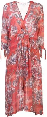 IRO Gramy wrap-style dress