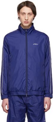 Saturdays NYC Blue Everett Track Jacket