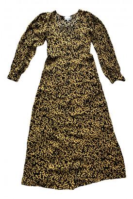 Ganni Spring Summer 2019 Black Viscose Dresses