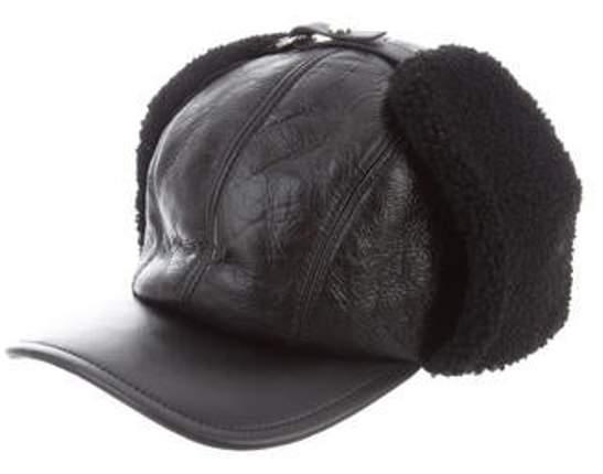 49dae6a6f Shearling Eskimo Cap black Shearling Eskimo Cap
