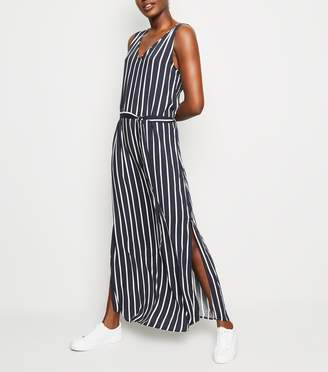 New Look JDY Stripe Sleeveless Maxi Dress