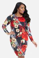 Fashion to Figure Rosebush Floral Bodycon Dress