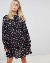 Fashion Union tea dress in dark floral