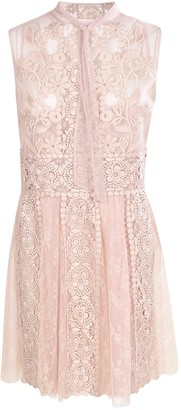 RED Valentino Lace Sleeveless Dress