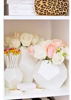 Lulu & Georgia DwellStudio Faceted White Vase
