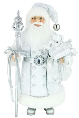 Windy Hill Collection Silver Santa Figurine
