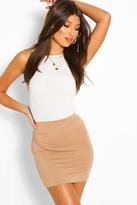 Boohoo Maisy Basic Bodycon Mini Skirt