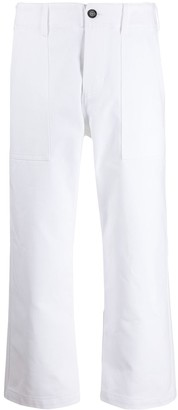 Jejia cropped straight leg trousers
